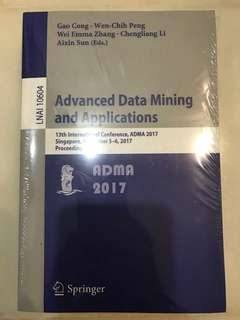 Advanced Data Mining and Application: 13 International Conference ADMA 2017
