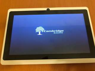 Cambridge Science tablet Q88