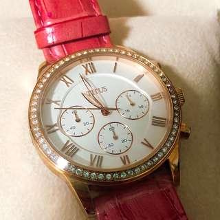 *全新 TITUS 粉色女裝手錶