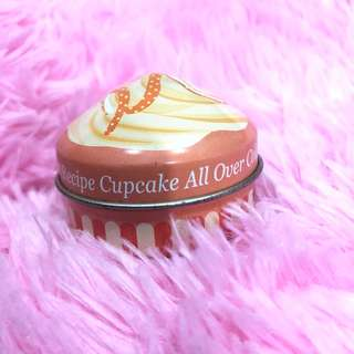 Etude house sweet recipe cupcake all over orange choux cake