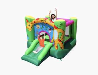 Giraffe Bouncer Inflatable Bouncer