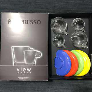 Nespresso View collection coffee cups