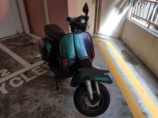 Vespa PX150 with Galaxy Paintwork for S$6,500