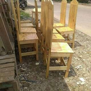Kursi dan meja jati belanda