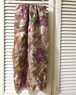 [上海購] 100% Silk絲巾
