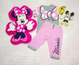 """Disney Minnie Mouse"" Sleepwear, Pillow and Stuffed Toys Bundles"