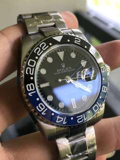 ROLEX GMT MASTER BATMAN