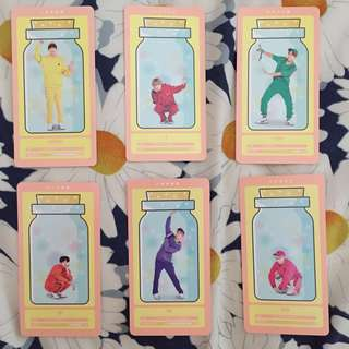[WTT/WTS] BTS 4th Muster Happy Ever After Cloud Card Set