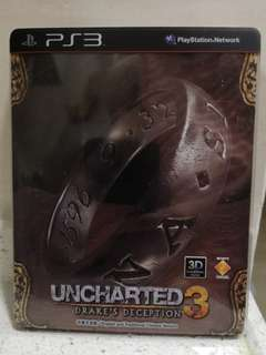 PS3 Game ps 3 game uncharted 3 中英文合版