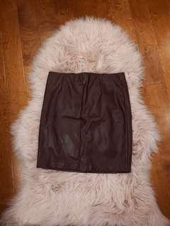 Dynamite pleather mini skirt