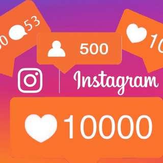 1000 Instagram followers real human INDONESIA ASLI