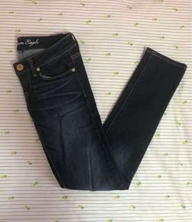 AMERICAN EAGLE STRETCHY SKINNY DENIM JEANS