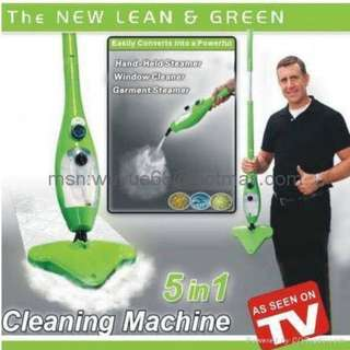 as seen tv h20 mop x5 5in1 steam cleaner