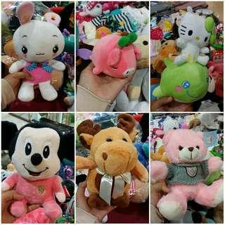 Cute plush toys