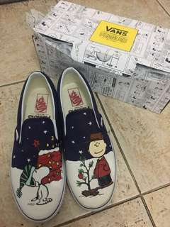 Vans slip on snoopy edition