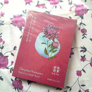 Chrysanthemums Face Mask (x5 in box)
