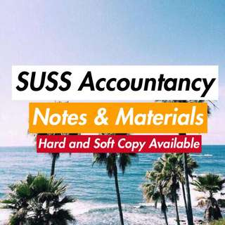 SUSS Accountancy