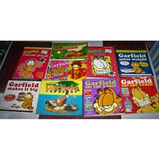 Various Garfield Comics