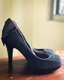Rusty Lopez Black Pump Shoes