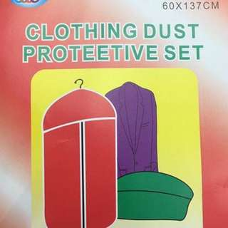 Clothing dust protective set