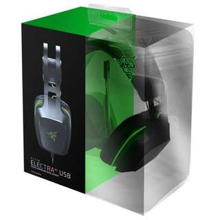 BNIB sealed local set Razer Electra V2 - USB Gaming Headset w/ 7.1 Virtual Surround Sound
