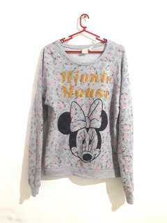 Forever 21 Floral Pullover/Jacket
