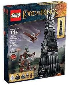 全新 Lego Lord of the Rings 魔戒 10237 Tower of Orthanc 非靚盒