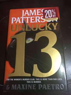 Unlucky 13th by James Patterson (Hardbound)