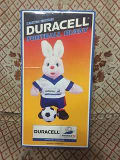 1994 World Cup Energizer bunny , 12 inches by 4 inches