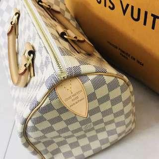 (REDUCE PRICE) Authentic Louis Vuitton Speedy Damier Azur