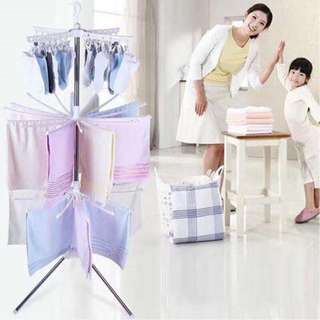 Drying cloth rack 3 layer with clip