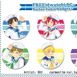 FREE! Iwatobi SC ~sailor badge~
