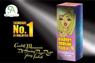 Babies serum gula New @July instock