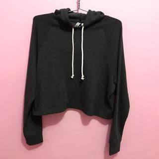 H&M divided hoodie crop New original