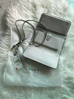 Authentic Preloved ZARA Crossbody PVC (small with detachable strap)