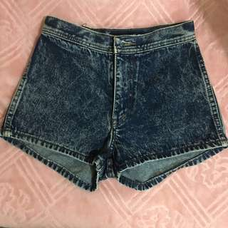 Denim Highwaist Shorts
