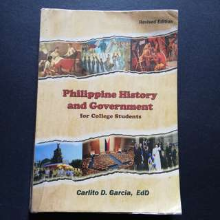 Philippine History Book