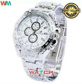 ORLANDO STAINLESS STYLE jam tangan pria anti air anti karat