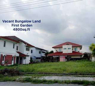 First Garden Bungalow Land For Sale