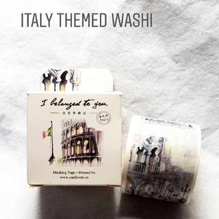 Italy Washi Tape