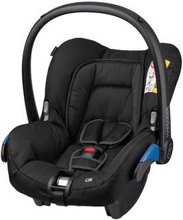 Maxi Cosi Citi Car Seat / Carrier (Raven Black)