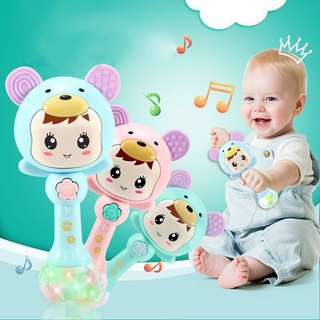 🚚 BABY RATTLE SHAKER MUSICAL TOY