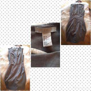 H&M grey dress (Size 4)
