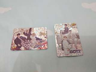 第 37期  got7 yes card 閃卡