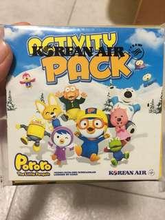 New Pororo activity pack