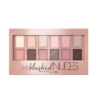 MAYBELLINE THE BLUSHED NUDES PALETTE ORIGINAL 100%