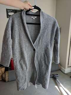 Uniqlo merino wool cardigan
