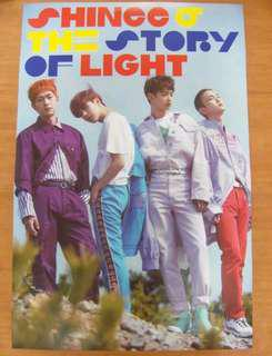SHINee EP 2 Poster (unfolded) kpop