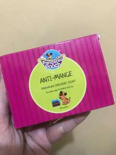 Pampered pooch anti-mange organic soap