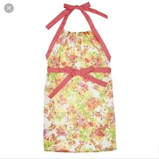粉色Francfranc雪紡圍裙